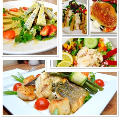 Sandwiches, Salads or Seafood